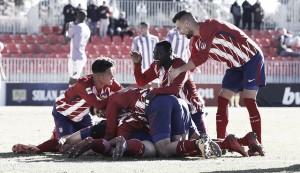 El Atlético B apela al orgullo para gestar la remontada