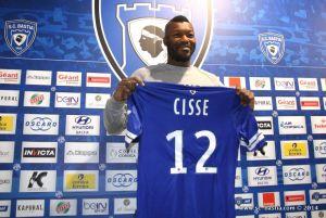 """La presentazione di Cissé: """"Voglio riprendermi la nazionale"""""""