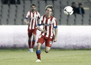 Samuel Villa anota el gol de la jornada 21 de Segunda División B