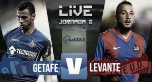 Resultado Getafe vs Levante en la LIGA BBVA 2015 (3-0)