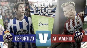Resultado Deportivo de la Coruña - Atlético de Madrid: reparto justo de puntos (1-1)
