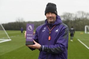 Paul Clement fue nombrado como el mejor entrenador de enero en la Premier League