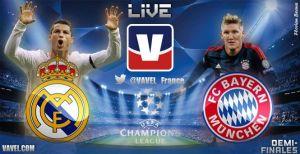 Live Champions League : le match Real Madrid - Bayern Munich en direct