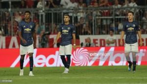 Bayern Munich 1-0 Manchester United Live Score Commentary Friendly Allianz Arena 2018