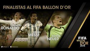 Balón de Oro en vivo online 2014