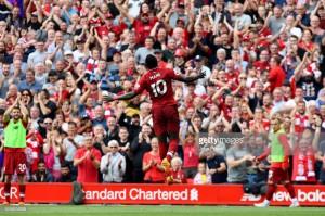 Liverpool 4-0 West Ham United: Mane brace helps rampant reds take top spot