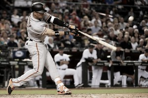 Gorkys Hernandez, Johnny Cueto lead San Francisco Giants past Arizona Diamondbacks