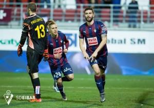 El Eibar, sin goleador frente a la mejor defensa de Europa