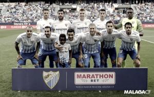 El Málaga CF a remolque en la mayoría de los partidos