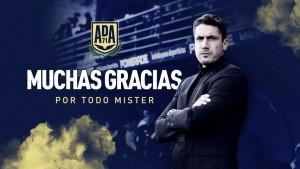 Julio Velázquez deja de ser el entrenador del Alcorcón