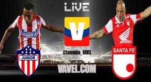 Junior vs. Santa Fe, Liga Postobón en vivo online