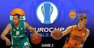 Resultado Unics Kazan - Valencia Basket en la final de la Eurocup (73-85)