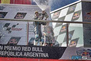 Moto3, Argentina: Fenati show