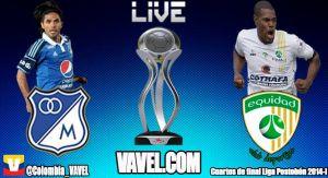 Millonarios vs Equidad, Cuartos de final de la Liga Postobon 2014 en vivo online