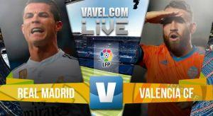 Resultado Real Madrid vs Valencia en liga BBVA 2015 (2-2)