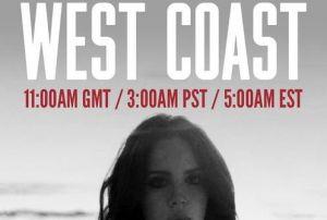 Lana del Rey estrena nuevo single: 'West Coast'
