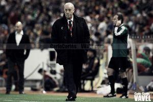"""Del Bosque: """"Tengo el once decidido, pero no lo voy a decir"""""""