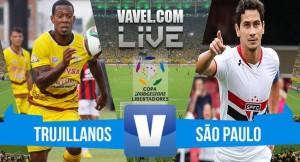 Resultado Trujillanos x São Paulo na Libertadores 2016 (1-1)