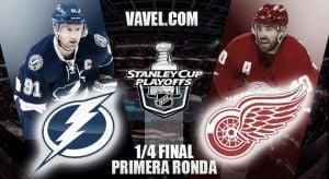 Tampa Bay Lightning – Detroit Red Wings: chispas en primera ronda