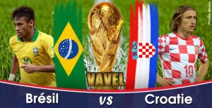 Live Coupe du Monde 2014 : Brésil vs Croatie en direct