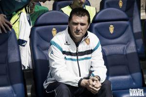 El Real Zaragoza cesa a Emilio Larraz