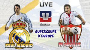 Live Supercoupe de l'UEFA 2014 : le match Real Madrid - FC Séville en direct