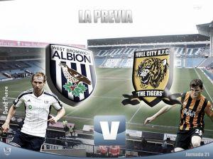 West Bromwich Albion - Hull City: 'six pointer match' para salir de abajo