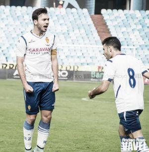 """Diego Suárez: """"Tenía muchas ganas de marcar en La Romareda"""""""
