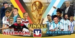 Live Coupe du monde 2014 : le match Allemagne vs Argentine en direct