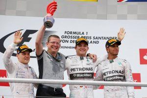 GP Germania, Rosberg vince in casa