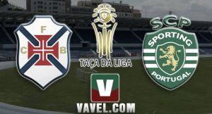 Belenenses vs Sporting de Portugal, Taça da Liga en vivo y en directo online (3-2)