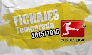 Mercado de fichajes de la Bundesliga 2015/2016