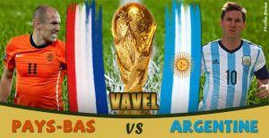 Live Coupe du monde 2014 : le match Pays-Bas vs Argentine en direct