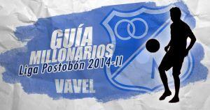 Guía VAVEL Liga Postobón II-2014: Millonarios