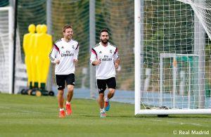 Ancelotti mezcla a los disponibles para entrenar con el Castilla