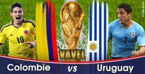 Live Coupe du monde 2014 : le match Colombie vs Uruguay en direct