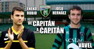 "Entrevista. Josu Hernáez y Eneko Rubio: ""De capitán a capitán"""