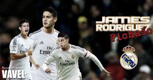 Ya es oficial: James Rodríguez es nuevo jugador del Real Madrid