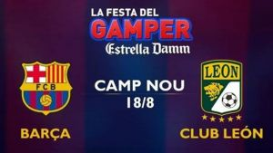 Live FC Barcelone vs FC Leon, le match en direct