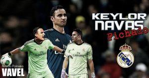 Keylor Navas reforzará la portería del Real Madrid