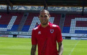 Braian Rodríguez, presentado como nuevo jugador del Numancia