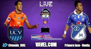 César Vallejo vs Millonarios, Copa Sudamericana en vivo online