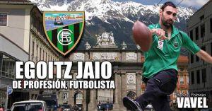 """Entrevista. Egoitz Jaio: """" El nivel general de la Bundesliga austriaca es similar al de nuestra Segunda B"""""""