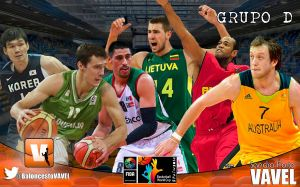 Grupo D: Lituania y Eslovenia con Estados Unidos en el horizonte