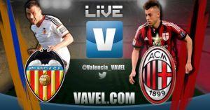 Valencia vs Milan en vivo y en directo online