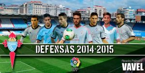 Real Club Celta 2014/15: defensa