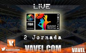 Mundial de Baloncesto España 2014 en vivo: 2ª jornada en directo y online