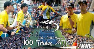 Los Bryan revientan la historia: 100 títulos ATP