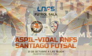 Aspil Vidal Ribera Navarra - Santiago Futsal: ¿qué hay de nuevo viejo?