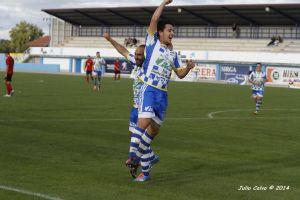 Segoviana - Arandina: clásico de fútbol y goles